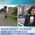 Cecilia Menendez, Coordinadora de Feminismos del Uruguay, realizó una nueva alerta feminista