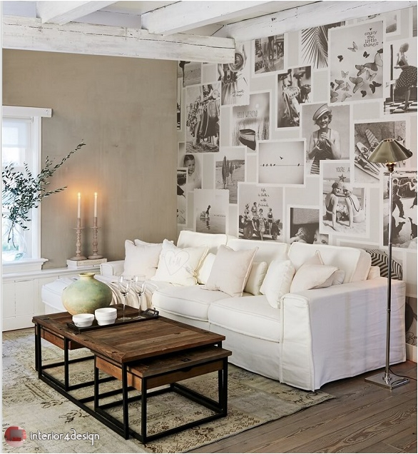 Magical living room wall ideas 1