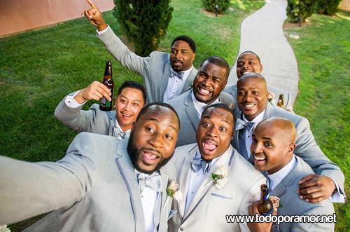 Selfies de enamorados