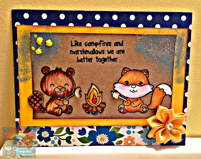 Campfire Card (Craftin Desert Diva's Guest DT Project 3 of 4)