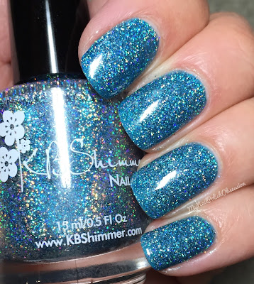 KBShimmer Mega Flame Collection, Spring 2016; Set In Ocean