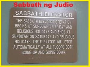 Ano Ang Ibig Sabihin ng Sabbath Day