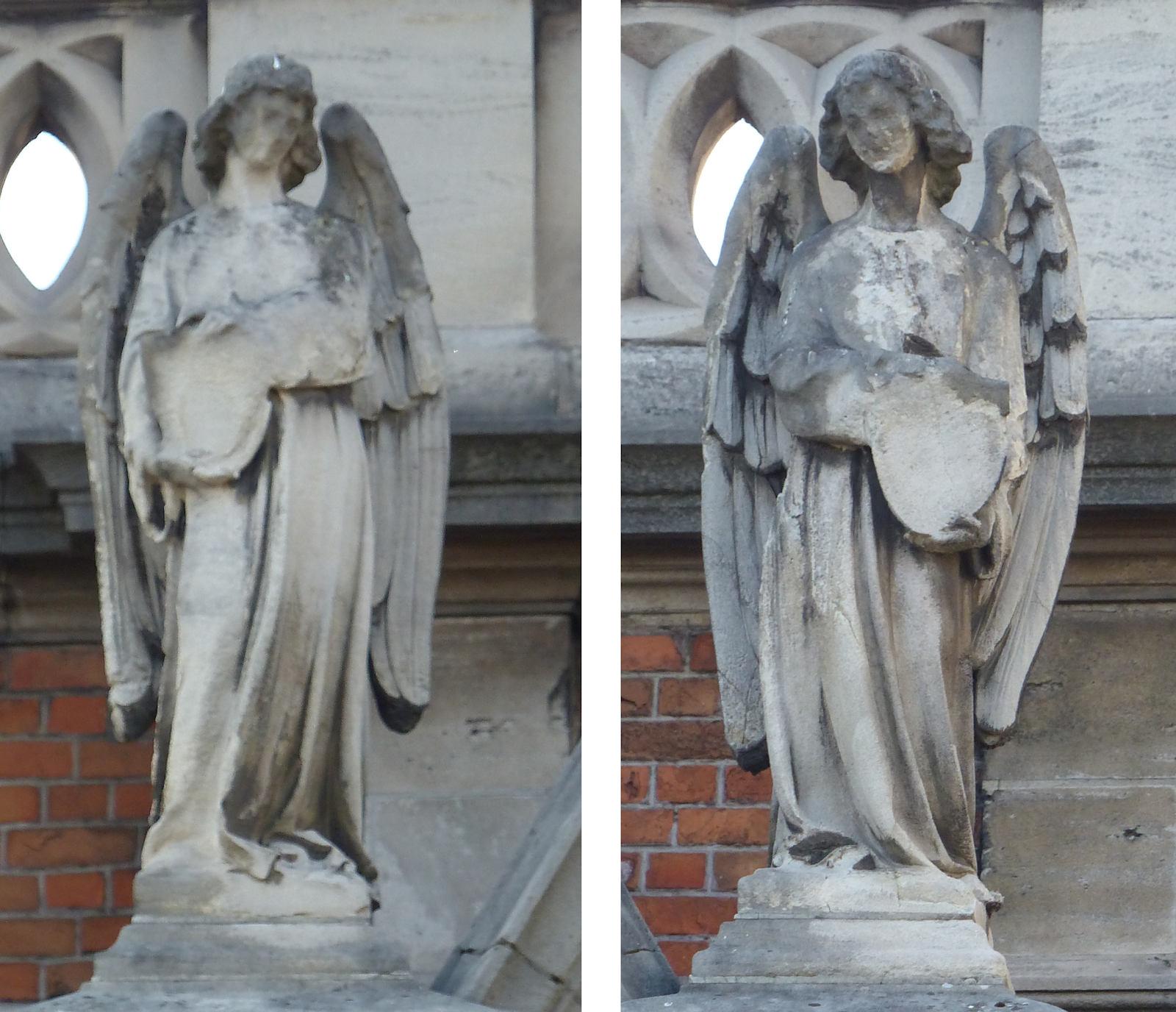 Chapelle du Voeu - Anges de la façade