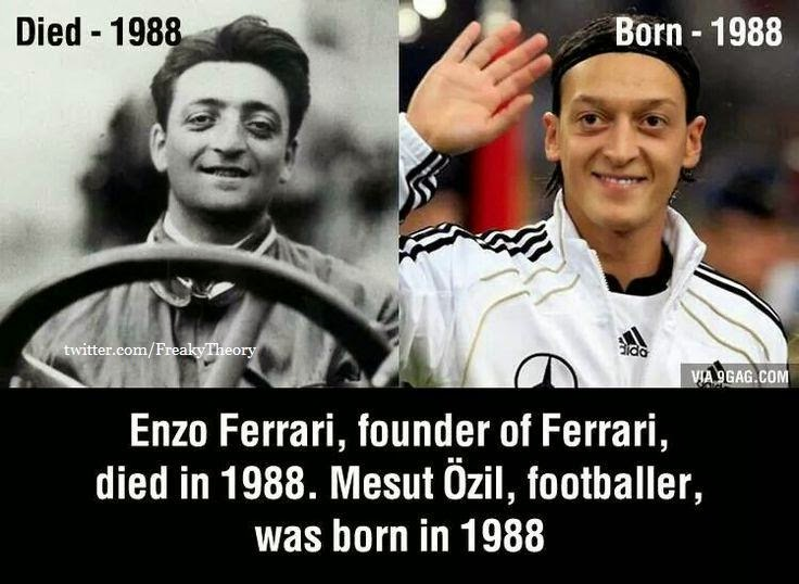 A Coincidence Photo Must See Enzo Ferrari Founder Of