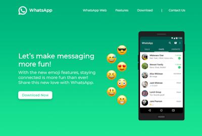 cara menampilkan foto saat chatting di whatsapp