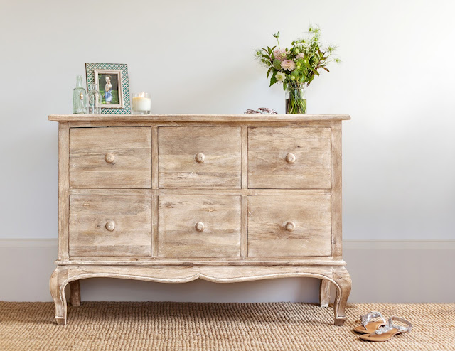 Mango Wood Furniture - Maison 6-Drawer Chest