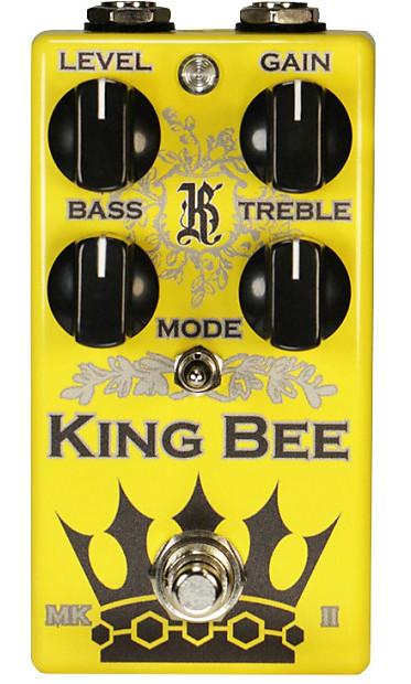 stomp box steals overdrive walker a e king bee mkll gutsy blues pedal. Black Bedroom Furniture Sets. Home Design Ideas