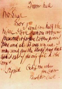 Carta del destripador