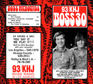 KHJ Boss 30 No. 223 - Sam Riddle with Bobby Sherman
