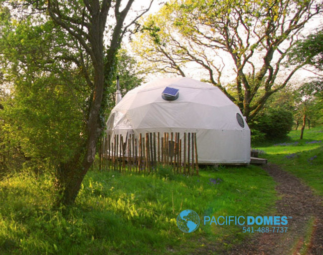 Portable Dome Shelters : Shelter domes dome homes by pacific geodesic