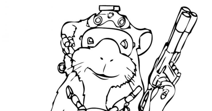 Free Coloring Pages G Force Coloring Pages