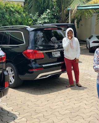 Regina Daniels fleet of cars
