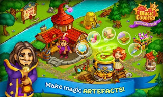 Download Magic Country: Fairy City Farm Games