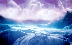 purple mountain landscape stunning background mountains desktop scenes backgrounds landscapes wallpapers cool fantasy bing pc hd winter deviantart