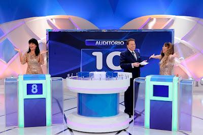 Valentina, Silvio e Micheli (Crédito: Lourival Ribeiro/SBT)