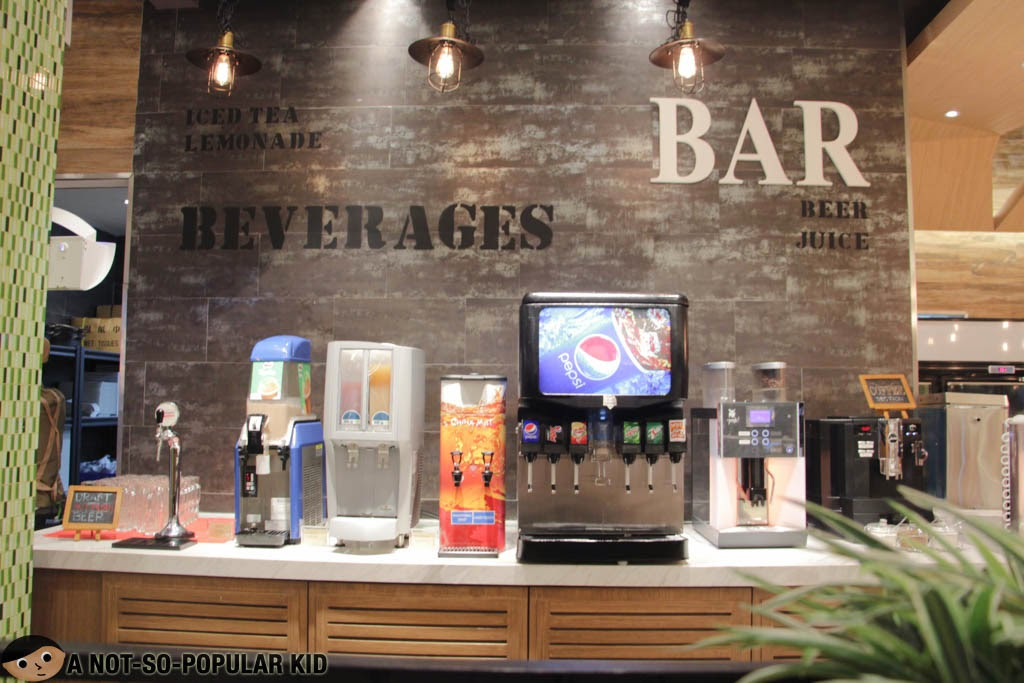 Bar Area for some thirst-quenching beverages