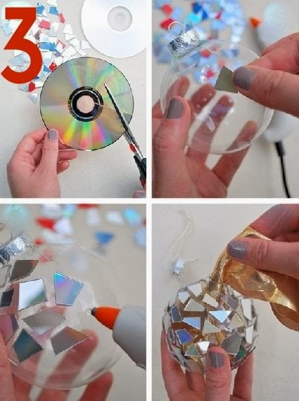 Christmas Do it yourself Ornaments Ideas
