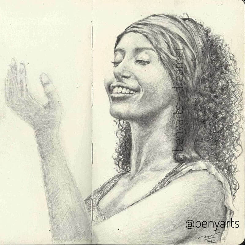 02-Benyarts-Expressions-and-Feelings-in-Graphite-Drawings