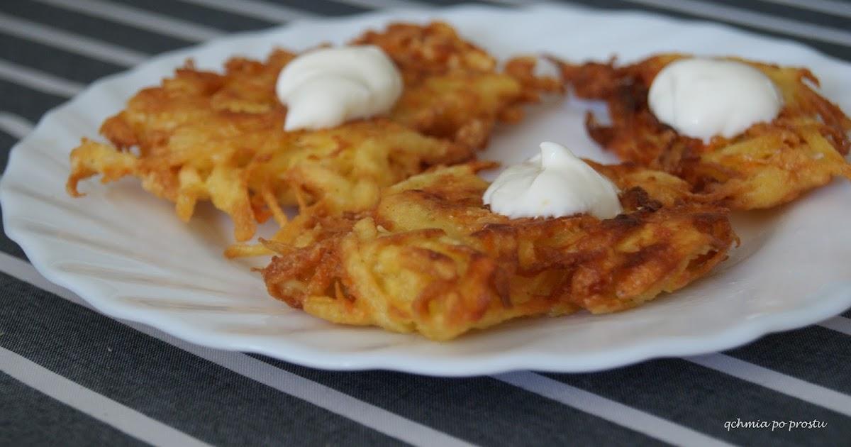 Qchnia po prostu Placki ziemniaczane z żółtym serem -> Qchnia U Orzecha