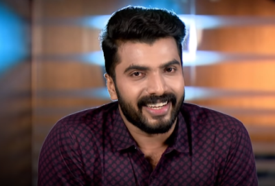 Actor Anoop Krishnan as Kalyan, hero of Seethakalyanam serial on Asianet