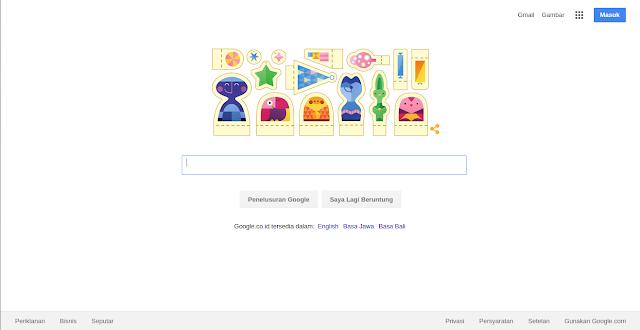"""Google Doodles Mengucapkan """"Selamat Hari Libur!"""""""