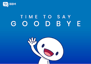 Blackberry shutting down BBM Next week