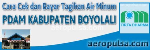 Cara cek dan bayar tagihan rekening PDAM Kabupaten Boyolali