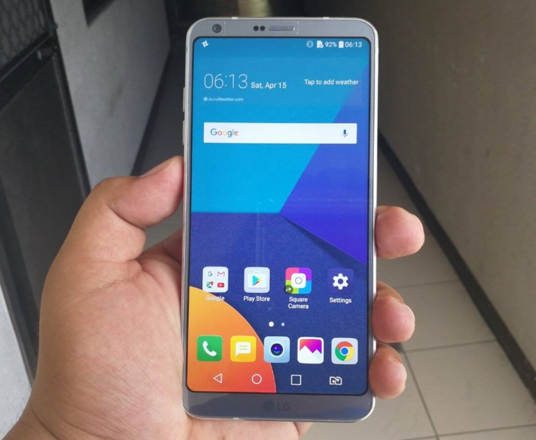 Globe Now Offers LG G6 at Plan 1499