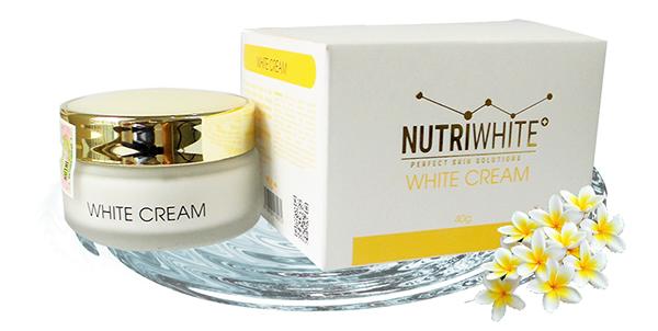 White Cream - Kem Dưỡng Trắng Da Mặt, ngăn ngừa mụn, sẹo thâm