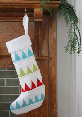 Quilt Inspiration: Free pattern day! Christmas stockings : quilted christmas stockings free patterns - Adamdwight.com