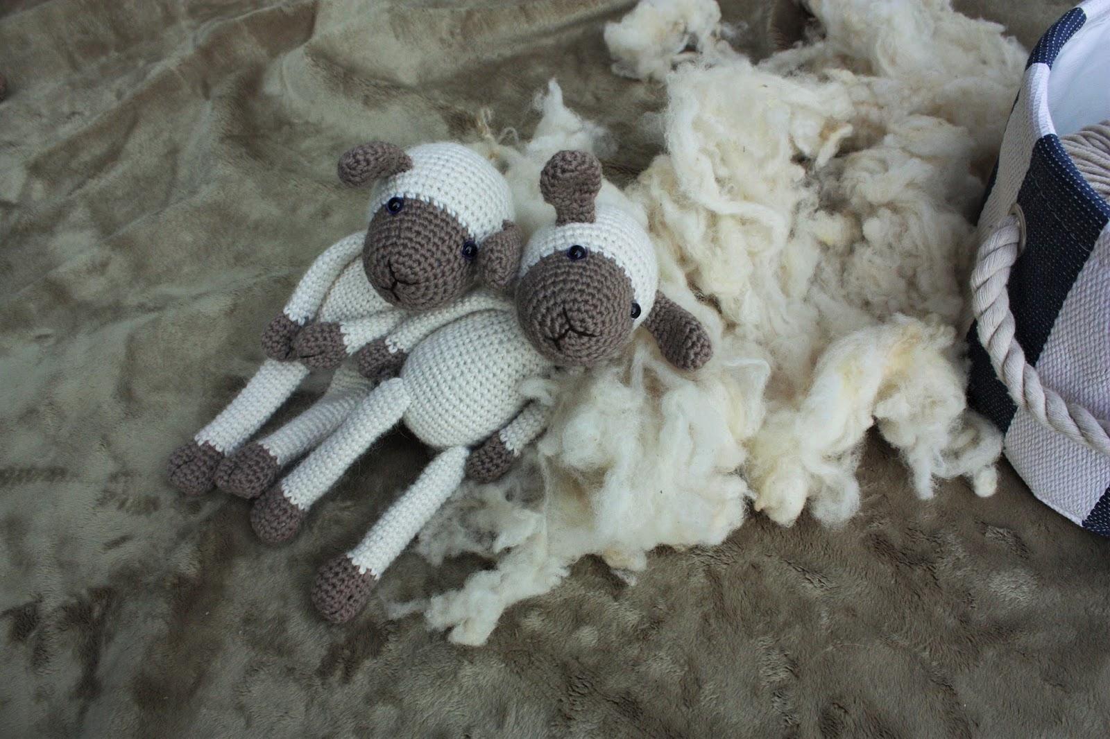 Amigurumi Sheep Tutorial : Happyamigurumi: New Amigurumi Sheep Pattern