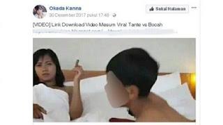 Begini Nasib 2 Bocah yang Beradegan Panas di Video Viral Bareng Tante-tante