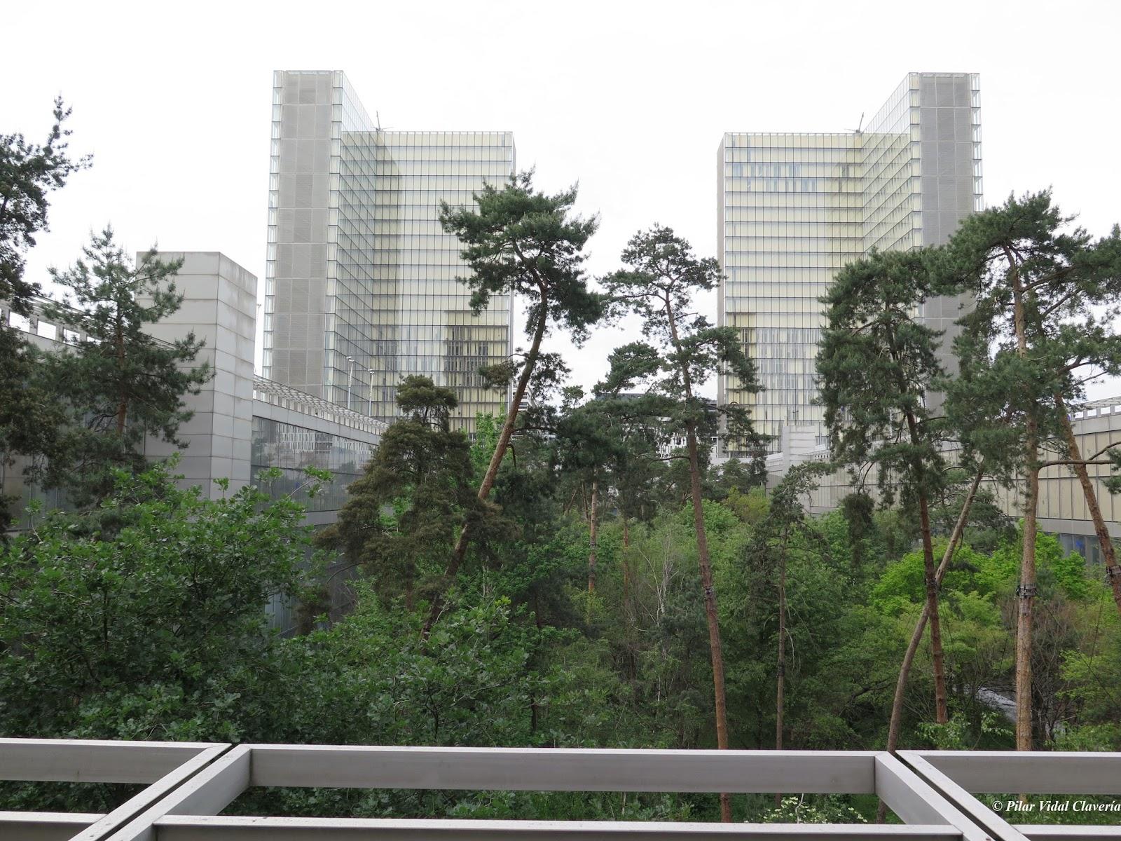 vista del jardn de la biblioteca nacional de francia bnf