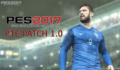 PTE Patch 1.0 for PES 2017 for PC [Compressed: 228MB]