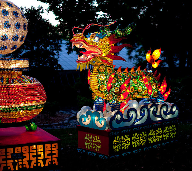 Missouri Botanical Garden Lantern Festival, photo by Brian Mueller