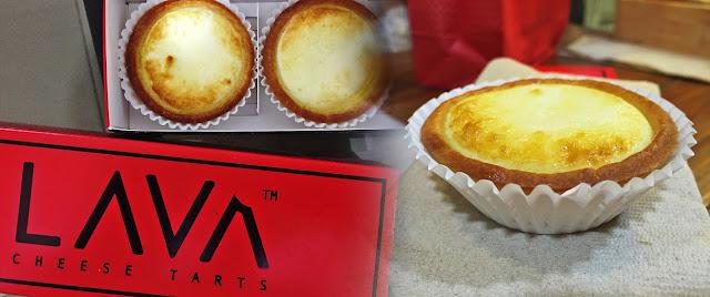 LAVA Cheese Tarts x Rizza Salas