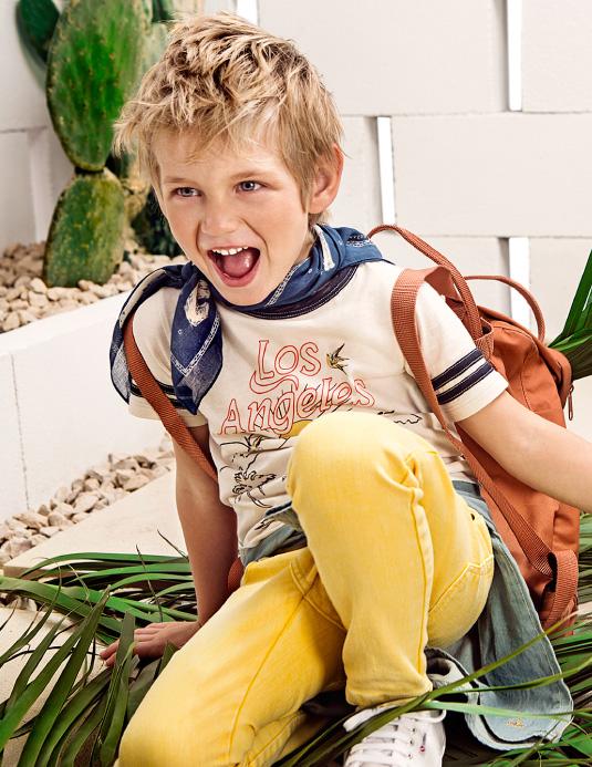 Moda primavera verano 2018 Paula Cahen D'Anvers Niños.