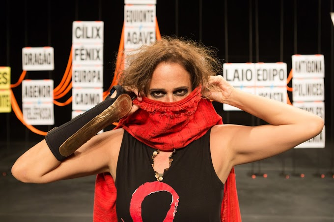 Antígona, com Andréa Beltrão, estreia no Teatro Raul Cortez