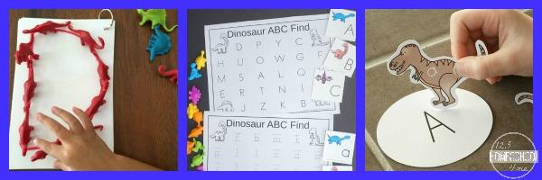 Dinosaur Language Arts Activities