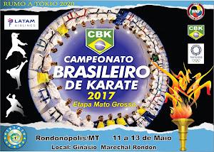 Campeonato Brasileiro de Karate - Fase Classificatória Mato Grosso