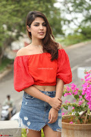 Rhea Chakraborty in Red Crop Top and Denim Shorts Spicy Pics ~  Exclusive 089.JPG