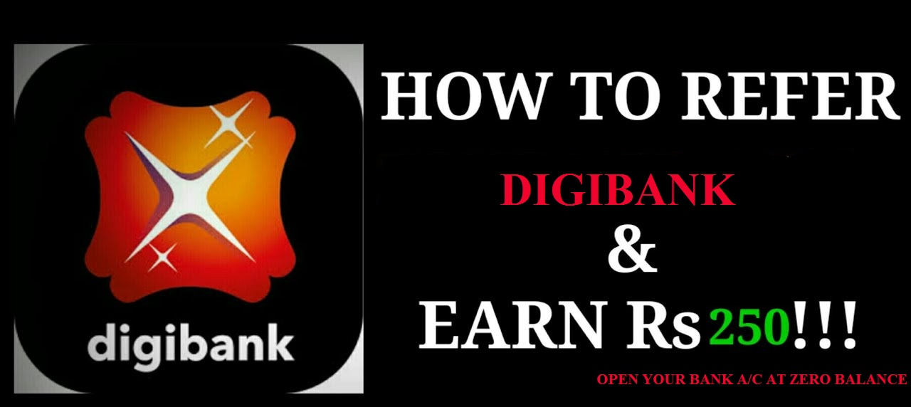 Zero Balance Bank Account Digibank Earn 250 Refer Open Site