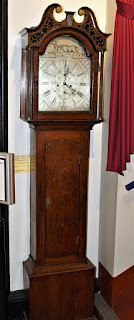 long case clock by Bayne of Stirling 1780