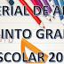 MATERIAL DE APOYO 5° (SEPTIEMBRE-OCTUBRE) CICLO ESCOLAR 2018-2019