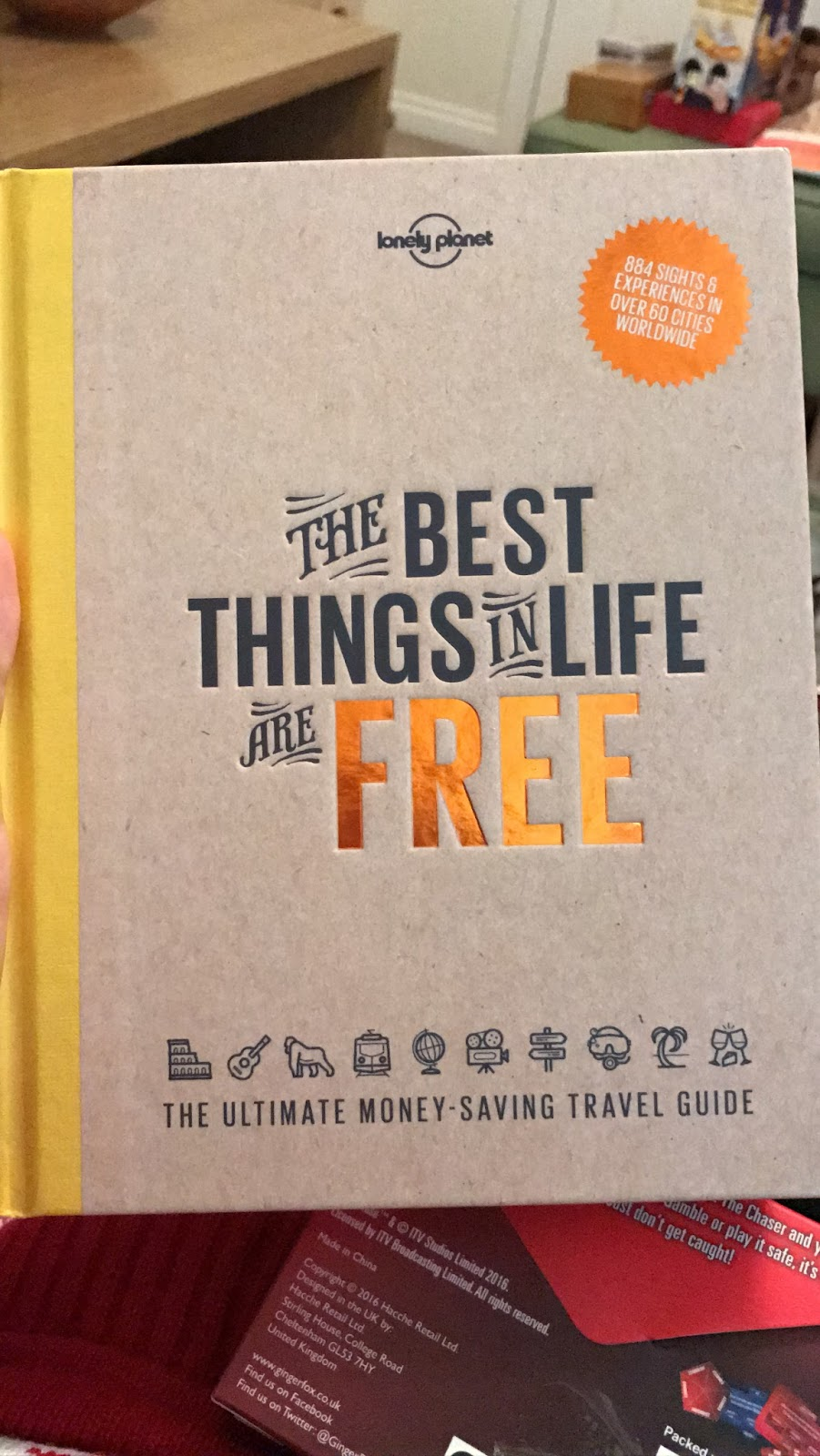 The best things in life are free lonely planet book
