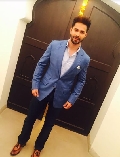 Spotted : Varun Dhawan in Brune shoes from Voganow