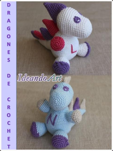 Dragones handmade personalizados