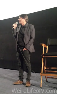 Adam Nimoy speaking to the audience prior to the screening of For the Love of Spock