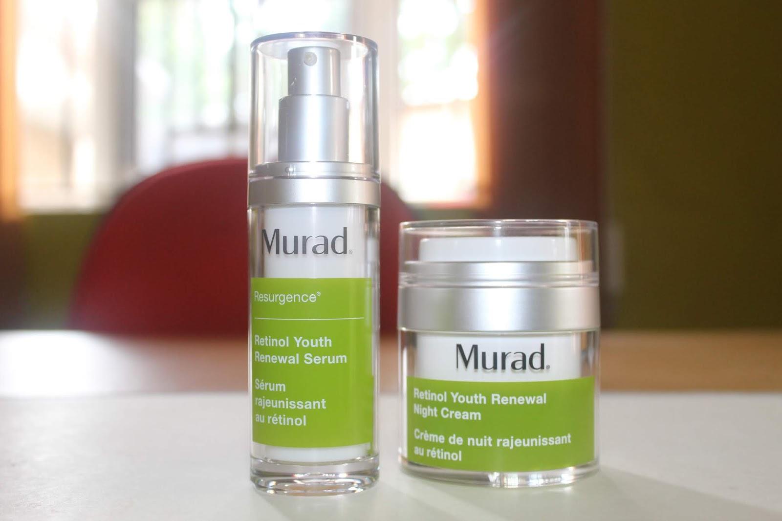 Product Review Murad Retinal Youth Renewal Serum + Murad