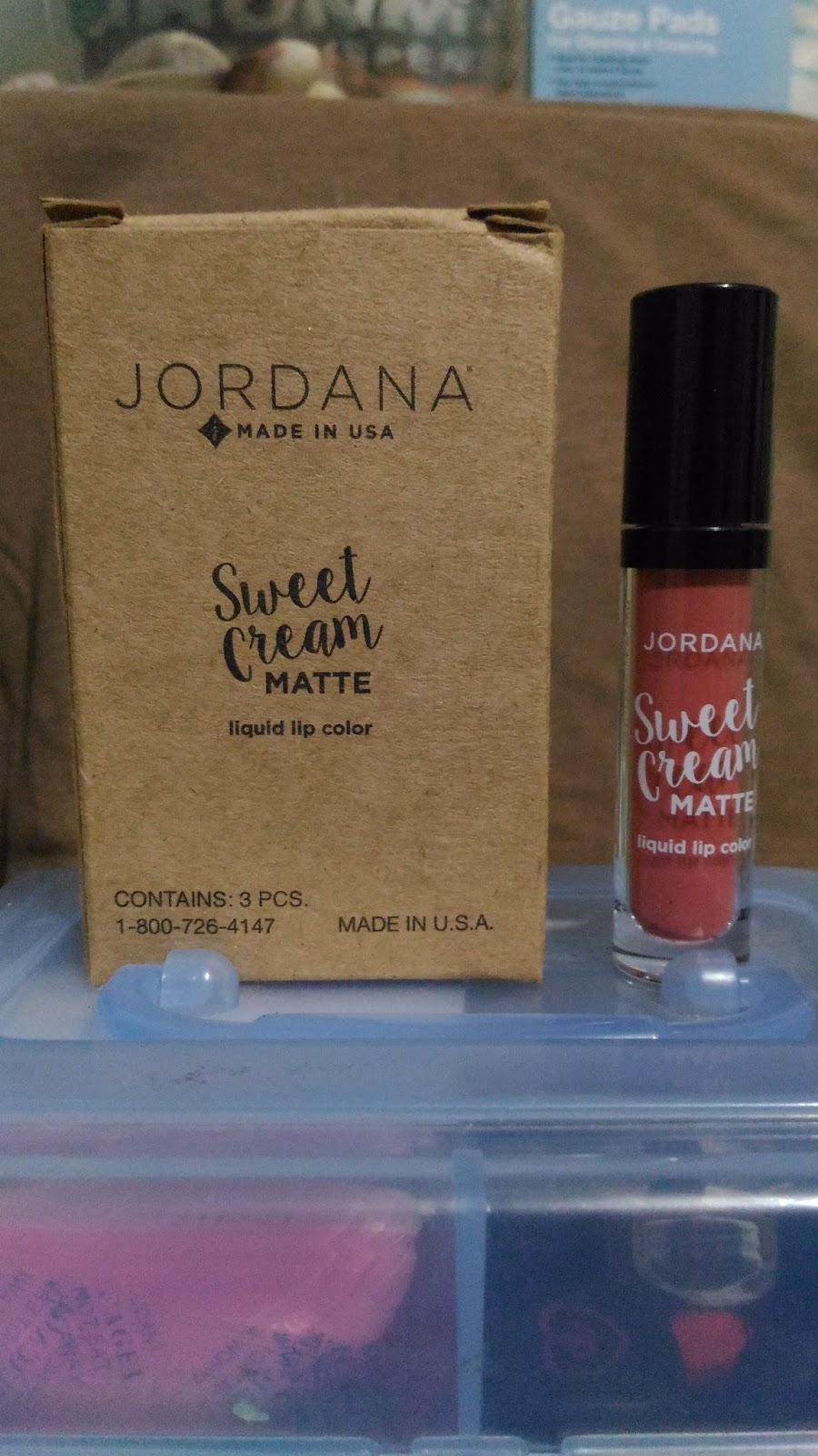 Lip Talk Jordana Sweet Cream Matte Liquid Color Also Sell These Lippies For 499 Each In Their Website Https Jordanacosmeticscom Colorhtml